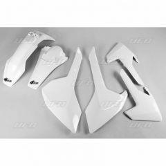 UFO Plastic kit 4-parts HVA TE/FE 125-501 2017-19  White 041