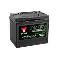 Yuasa L26-80 Active Leisure Battery 12V 80Ah 560A Note: Pallet cargo