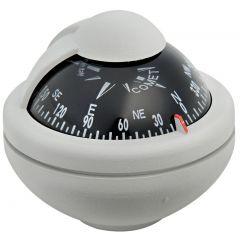 Riviera compass BC2 Grey Black card 65x61mm