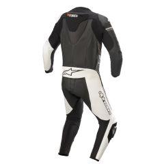 Alpinestars Leather suit GP Force Phantom V2 1 PCS Black/White/Gray 48