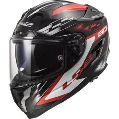 LS2 Helmet FF327 Challenger GP Black Red