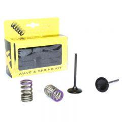 ProX Steel Intake Valve/Spring Kit KX250F '09-10 28.SIS4338-2