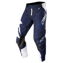 Alpinestars pants Techstar, white/dark navy