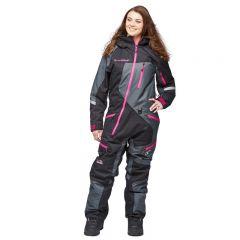Sweep Snow Queen 2 ladies insulated suit black/grey/pink