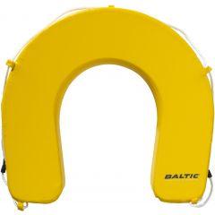 Baltic Sparecover horseshoe buoy yellow