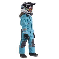 Snowpeople Junior Monosuit Kodiak turquoise