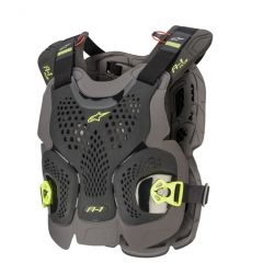 Alpinestars Chest Protector A-1 Plus Black/Yellow Fluo