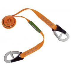 Baltic 2-hook safety line 2m