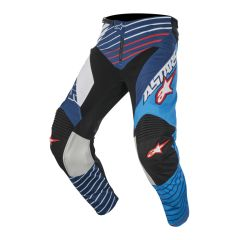 Racer Braap Pants white/blue 28