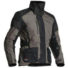 Halvarssons Textile jacket Wien Black/lava