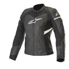 Alpinestars Leather jacket Stella Kira Black/White