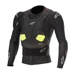 Alpinestars Protection Jacket Bionic Pro v2 Black/Yel Fluo