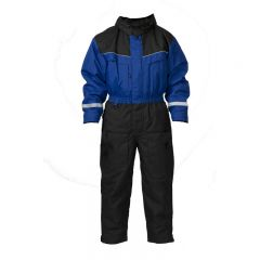 SnowPeople Safari overall blue/black
