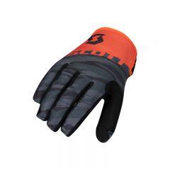 SCOTT Glove 350 Dirt Kids black/orange