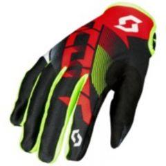 Scott Glove 350 Dirt red/black