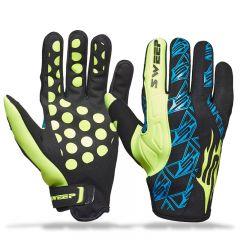 Sweep Freeride, neoprene glove, black/yellow/blue