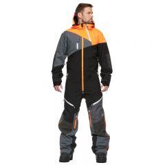 Sweep Drifter Coverall, Black/Orange