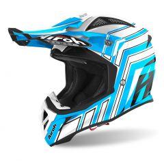 Airoh Helmet Aviator Ace ART blue