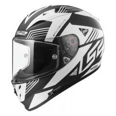 LS2 Helmet FF323 ARROW Neon Black White