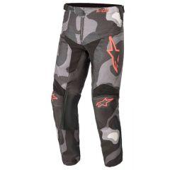 Alpinestars Junior Pants Racer Tactical Camo/Red Fluo