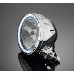 Highway Hawk Headlight with Led-Ring 68-0351