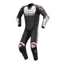 Alpinestars Leather Suit 1-pcs Missile Ignition Tech Air Black/Wht/Red Fluo