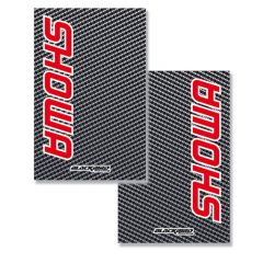 Blackbird Cystall Stickers - Carbon Fiber Look - Showa
