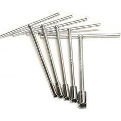 Htyper T-tool set 8-10-12-13-14-17-19 mm