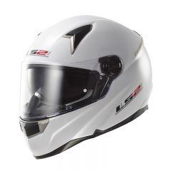 LS2 helmet FF396 FT2 SINGLE MONO gloss white