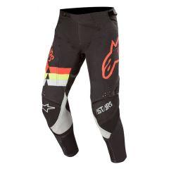 Alpinestars Techstar Venom Pants Black Red Fluo Yellow Fluo