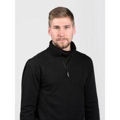 SVALA Merino Zip-Neck black