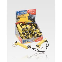 Oxford Minder. Disc Lock reminder cables Yellow