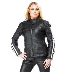 Sweep Leatherjacket Dina Lady, black