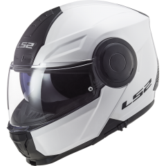 LS2 Helmet FF902 SCOPE SOLID WHITE