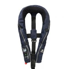 Baltic Compact 100 auto inflatable lifejacket navy 30-110kg