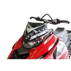 Skinz Next Level Windshield Pak Black/White 2014- Yamaha Viper