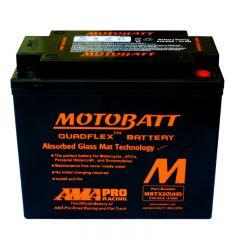 Motobatt battery, MBTX20UHD Black