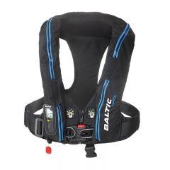 Baltic FORCE harness auto inflatable lifejacket black 40-120kg
