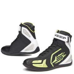 Sweep Shoe Speedster WP, black/white/yellow/carbon