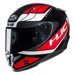 HJC Helmet RPHA 11 Scona White/Black/Red MC1