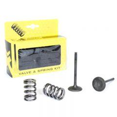 ProX Steel Exhaust Valve/Spring Kit RM-Z450 '08-16 + RMX450Z 28.SES3408-1