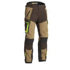 Lindstrands Textile Pants Sunne Brown/yellow