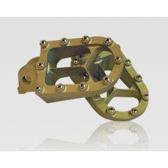 TALON Footpegs X8 YZ/YZF/WR 99- silver GAS 07-18
