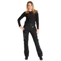 Sweep Textilepants Adina WP Lady, black/white