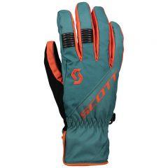Scott Glove Arctic GTX jasper green/orange pumpkin