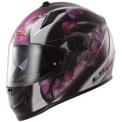 LS2 helmet FF322 CHIC black pink