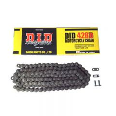 D.I.D 428D Chain+Connecting link (RJ)