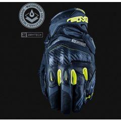Five Glove X-Rider WP Black/Fluo yellow