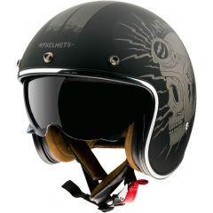 MT Le Mans 2 SV openface helmet Diler A2, matt black
