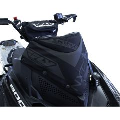 Skinz Next Level Windshield Pak Black 2011-15 Polaris Pro RMK/Switchback/Rush